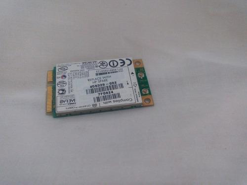 tarjeta de red wifi hp dv 6000