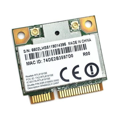 tarjeta de red wlan para laptop mark realtek model rtl8191se
