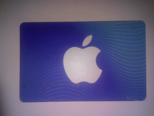 tarjeta de regalo $600 ( app store & itunes )