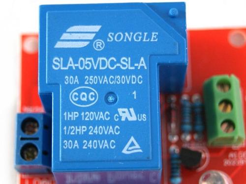 tarjeta de relevador 250v 30a arduino atmega pic