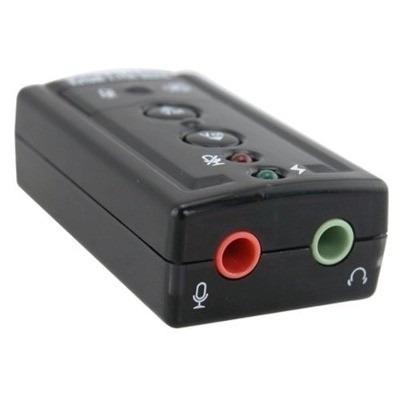 tarjeta de sonido 7.1 usb audio 3d externo adaptador usb