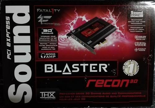 tarjeta de sonido creative sound blaster