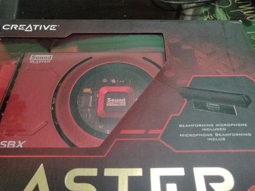 tarjeta de sonido creative sound blaster z