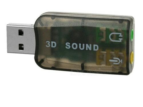 tarjeta de sonido externa usb 2.0