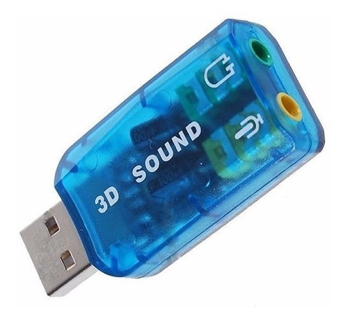 tarjeta de sonido externa usb 2.0 p/audifono y microfono isc
