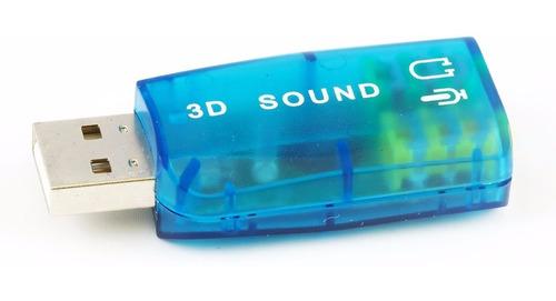 tarjeta de sonido usb 5.1