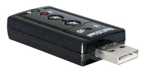 tarjeta de sonido usb 7.1 canales