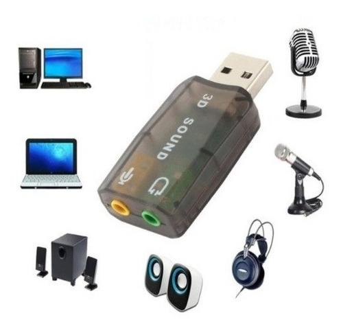 tarjeta de sonido usb externa audio 5.1 canales *****