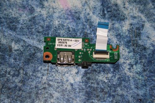 tarjeta de usb p/ hp mini 110 1020la sps 537615 001