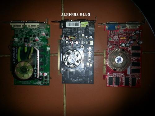 tarjeta de video 256mb 512 mb 1 gb