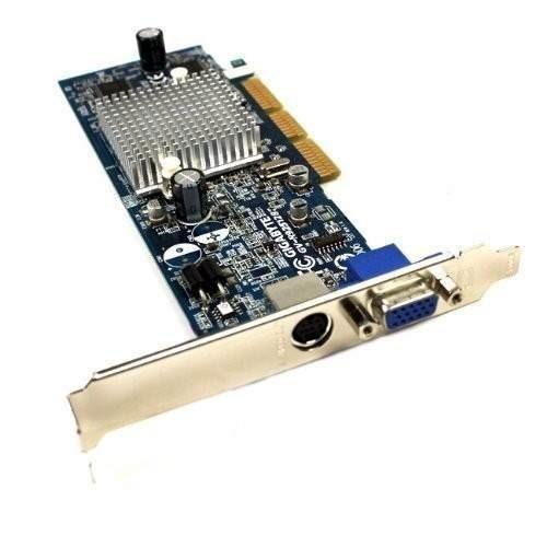 tarjeta de video agp gigabyte gv-r7064t de 64mb. ati radeon