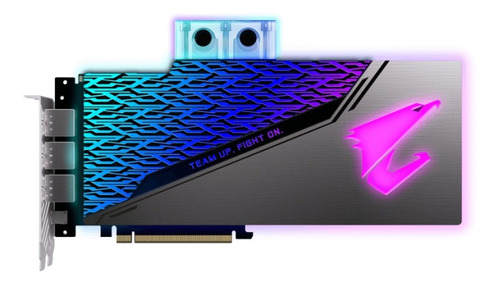 tarjeta de video aorus geforce rtx 2080 super waterblock