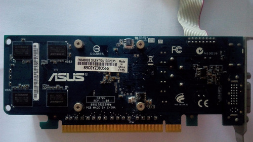 tarjeta de video asus geforce® 8400gs ddr2 1gb 64 bits