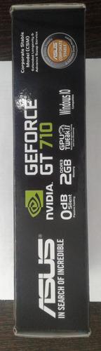 tarjeta de video asus gt-710 2gb csm gddr3 vga dvi hdmi pci