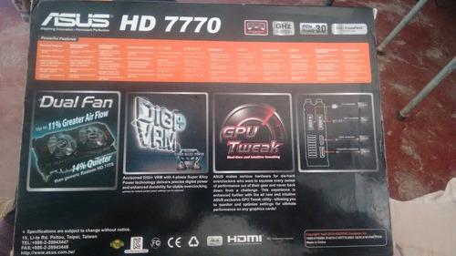 tarjeta de video asus hd 7770 ddr5