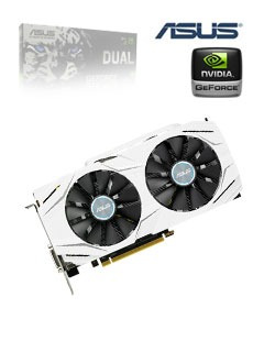 tarjeta de video asus nvidia geforce gtx 1060, 6gb gddr5 192