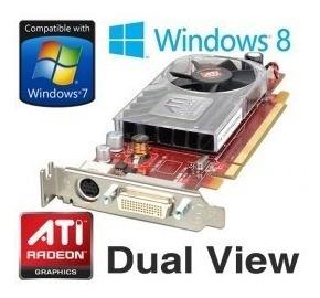 tarjeta de video ati hd 3450 funciona en windows 10 x32 x64