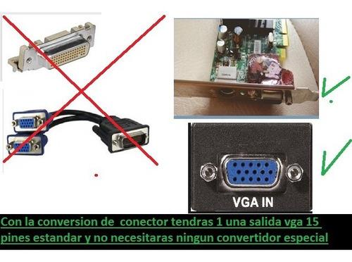 tarjeta de video ati hd 3450 vga dx10.1 shader4.1 salida vga