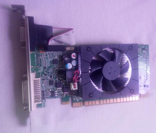 tarjeta de video de 1gb nvidia geforce g605 / 64bit (18 v)