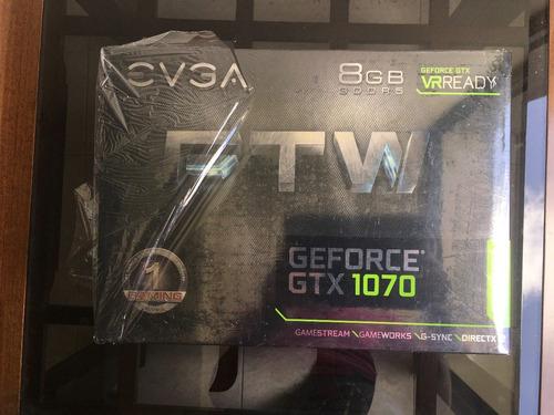 tarjeta de video evga ftw geforce 1070 8gb