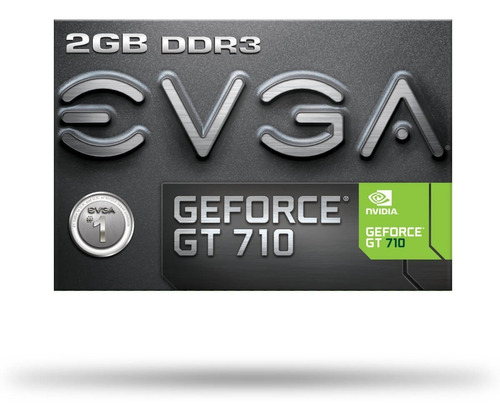 tarjeta de video evga geforce gt 710 2gb ddr3