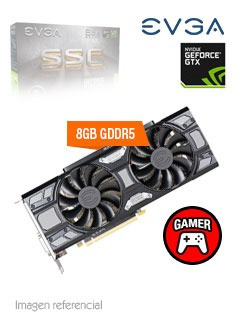 tarjeta de video evga nvidia geforce gtx 1070 sc gaming, 8gb