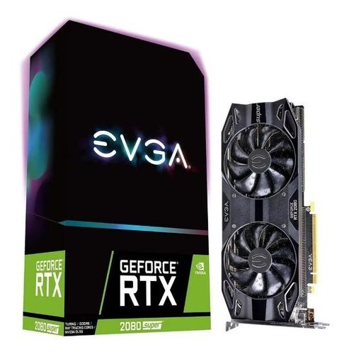tarjeta de video evga rtx 2080 super ddr6 black gaming 8gb