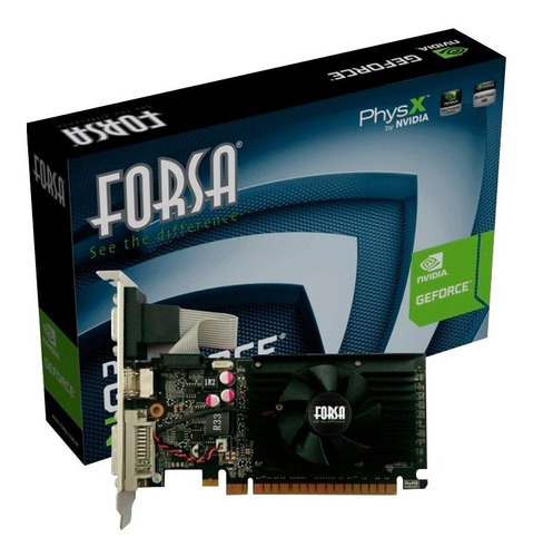 tarjeta de video forsa geforce g210 1gb ddr3 64bit loi