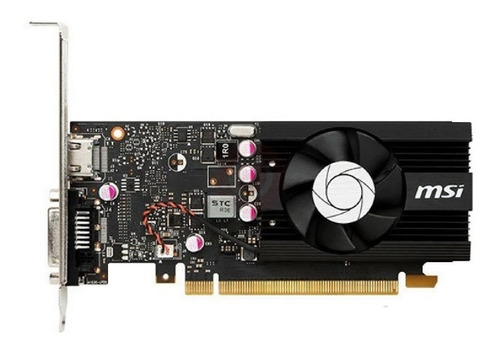 tarjeta de video geforce gt1030 2gb lp oc msi