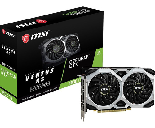 tarjeta de video geforce gtx 1660ti windforce oc gddr6