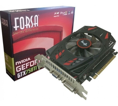 tarjeta de video geforce gtx 750ti vga 4gb ddr5 tranza