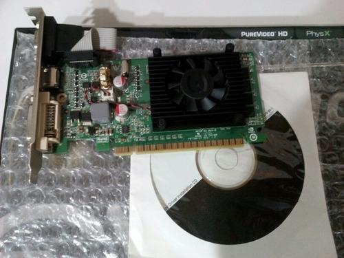 tarjeta de video gforce 210 nvidia evga 1gb ddr3