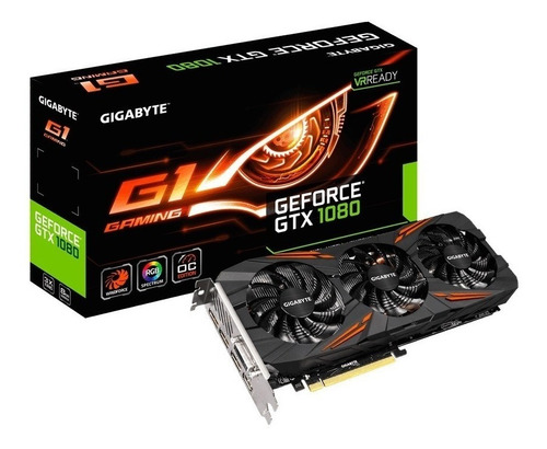 tarjeta de video gigabyte g1 gaming gtx - 1080 8gb gddr5
