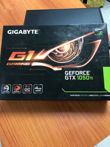 tarjeta de video gigabyte geforce gtx 1050ti 4gb