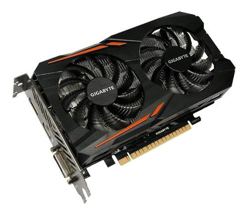 tarjeta de video gigabyte gtx 1050 4gb ddr5  ti oc  dual fan