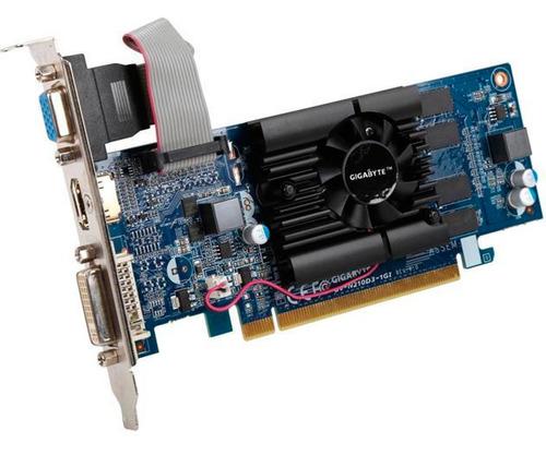tarjeta de video gigabyte nvidia 210 1gb ddr3 gv-n210d3-1gi
