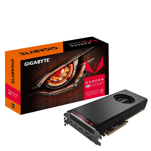tarjeta de video gigabyte radeon rx vega 56, 8gb hbm2, 2048-