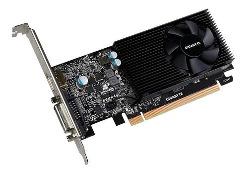 tarjeta de video gráfica gigabyte gt 1030 low profile 2g