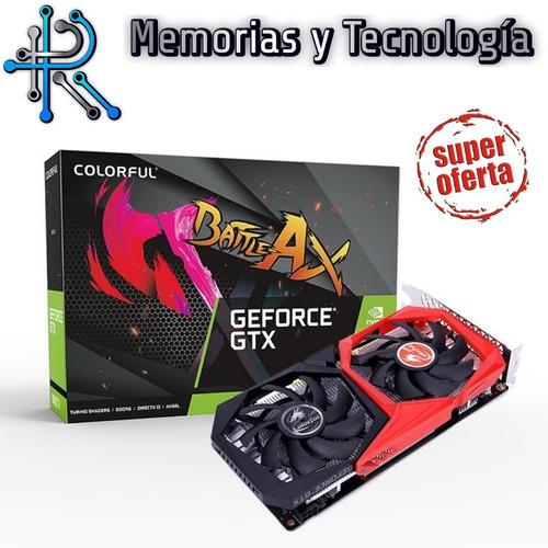 tarjeta de video grafica gtx1650 4gb  nvidia colorful