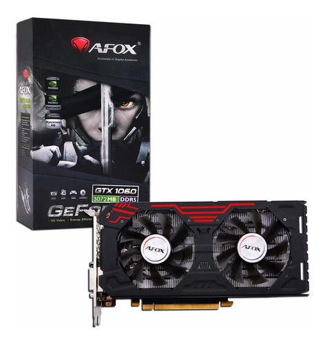 tarjeta de video gtx1060 3gb ddr5 192bit gamer gtia 2 años