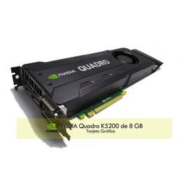 Tarjeta De Video Hp Nvidia Quadro K5200 8 Gb