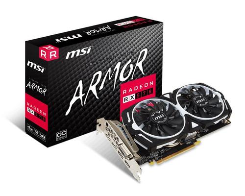 tarjeta de video msi armor rx 570 4gb