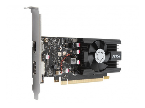 tarjeta de video msi g force 1030 lp ddr 5 2gb oc edition