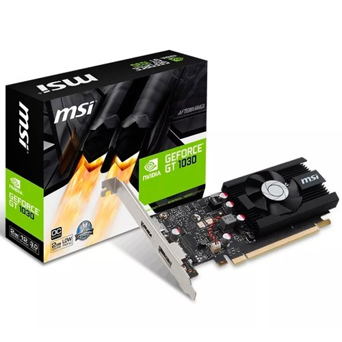 tarjeta de vídeo msi geforce gt 1030 2g lp oc ddr4