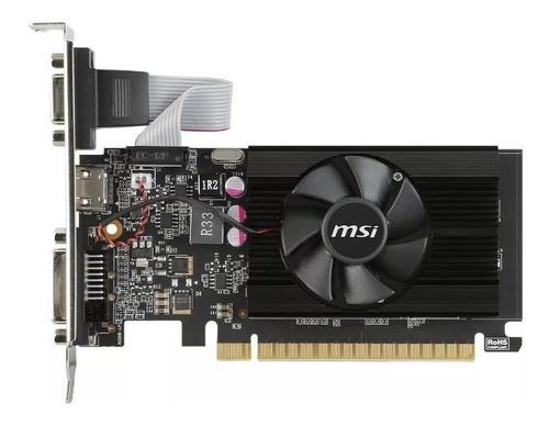 tarjeta de video msi geforce gt 710 2gb ddr3 ventilador