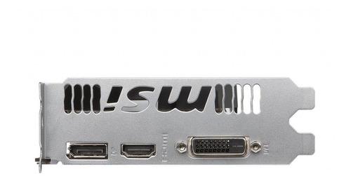 tarjeta de video msi geforce gtx 1050 ti 4gb oc