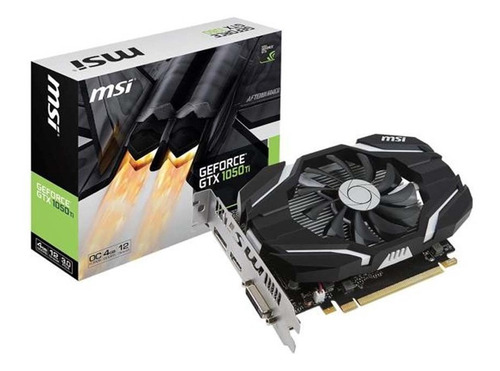 tarjeta de video msi geforce gtx1050ti oc 4gb ddr5 pci-e