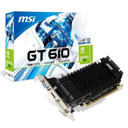 tarjeta de video msi geforce nvidia 2gb ddr3 hdmi