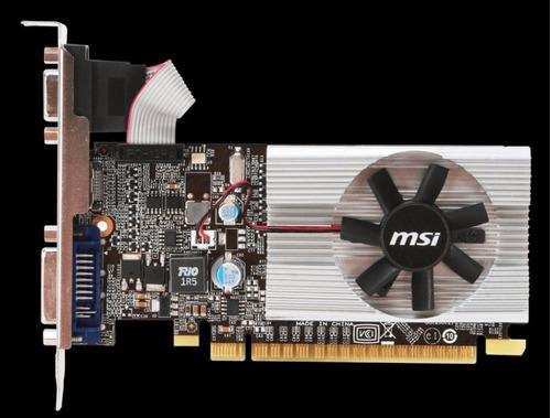 tarjeta de video msi geoforce nvidia gt210 1gb  ddr3 64bits