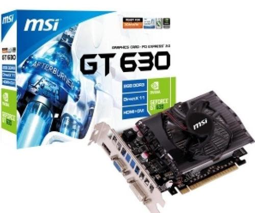 tarjeta de video msi gt630. 4gb